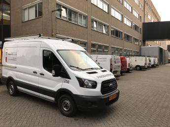Bussen RT voor stadskantoor Breda